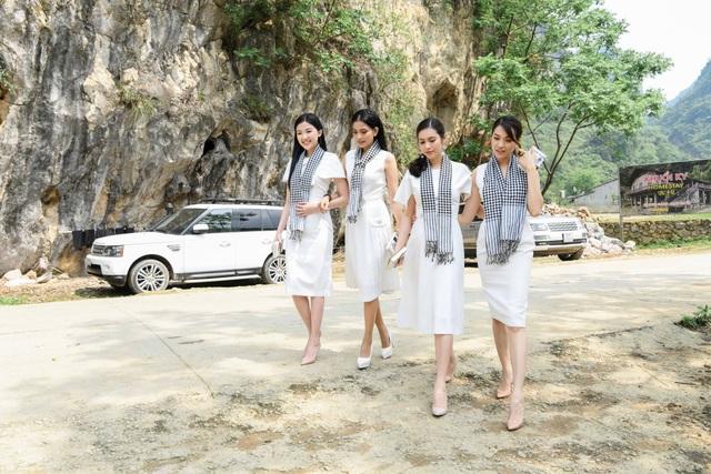 Trương Thị May, Lệ Hằng, Lương Thanh đẹp ngỡ ngàng giữa rừng núi Cao Bằng - 1