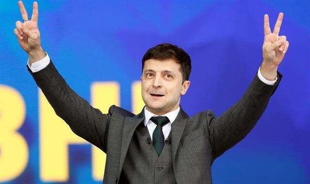 Thách thức bủa vây danh hài ngoại đạo thắng cử tổng thống Ukraine - 1