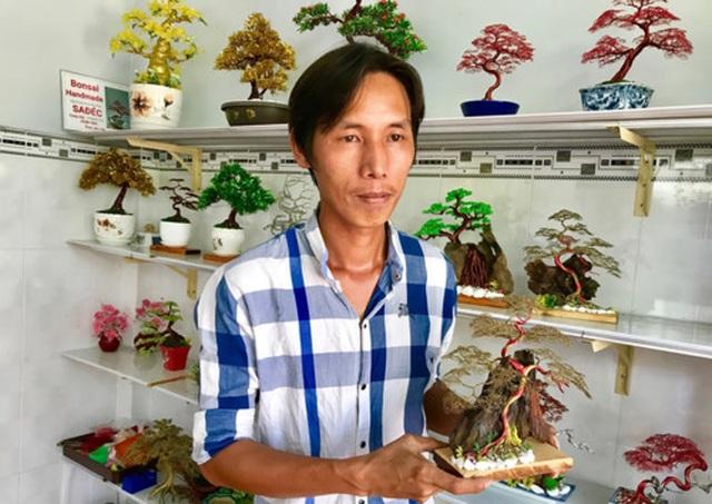 Khởi nghiệp với bonsai dây kim loại - 1