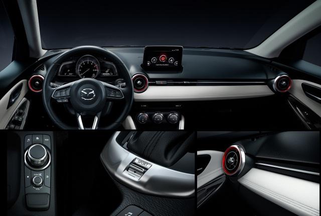 Mazda2 màu đỏ sẵn sàng để giao - 5
