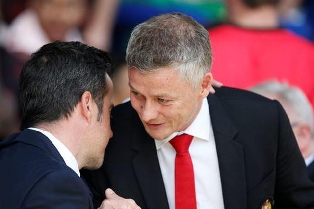 Những khoảnh khắc tan nát của Man Utd trước sức mạnh của Everton - 1