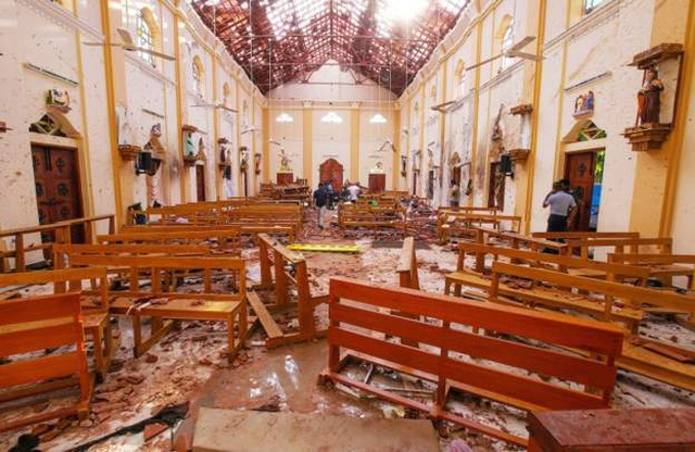 Số người chết trong vụ tấn công đẫm máu ở Sri Lanka tăng lên 290 - 2