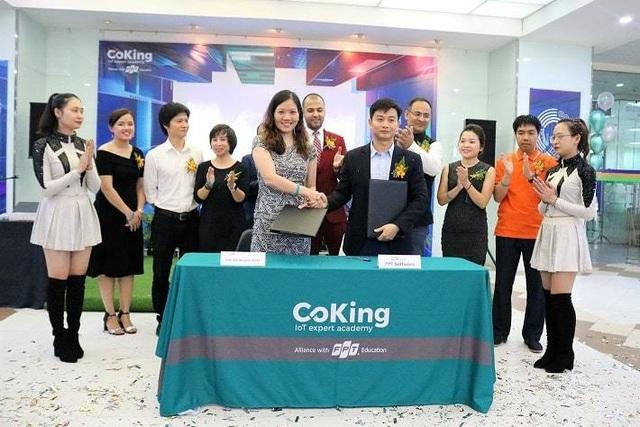 Ra mắt học viện IoT - FPT Coking tại Hà Nội - 2