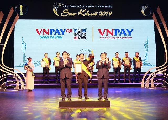 VNPAY xuất sắc được vinh danh trong TOP 10 Sao Khuê 2019 - 1