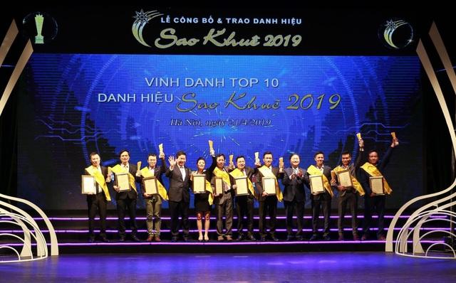 VNPAY xuất sắc được vinh danh trong TOP 10 Sao Khuê 2019 - 4