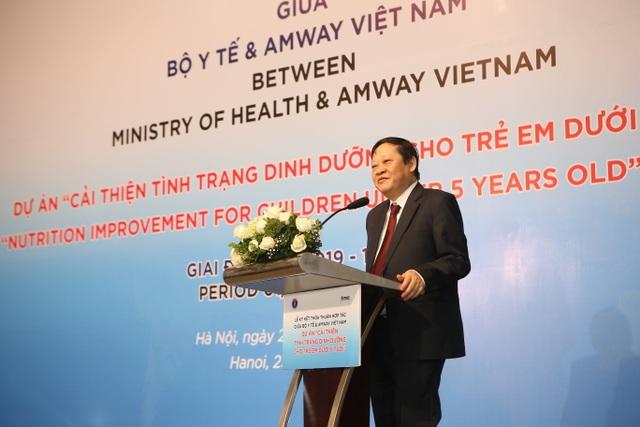 Amway ký thỏa thuận hợp tác với Bộ Y tế về cải thiện dinh dưỡng cho trẻ dưới 5 tuổi - 3