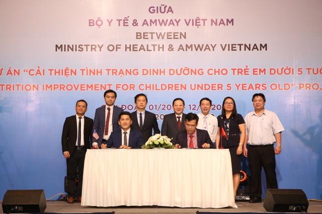 Amway ký thỏa thuận hợp tác với Bộ Y tế về cải thiện dinh dưỡng cho trẻ dưới 5 tuổi - 4