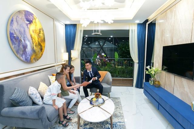 Hàng trăm khách hàng kinh ngạc với vẻ đẹp huyền ảo căn hộ Opal Boulevard - 4