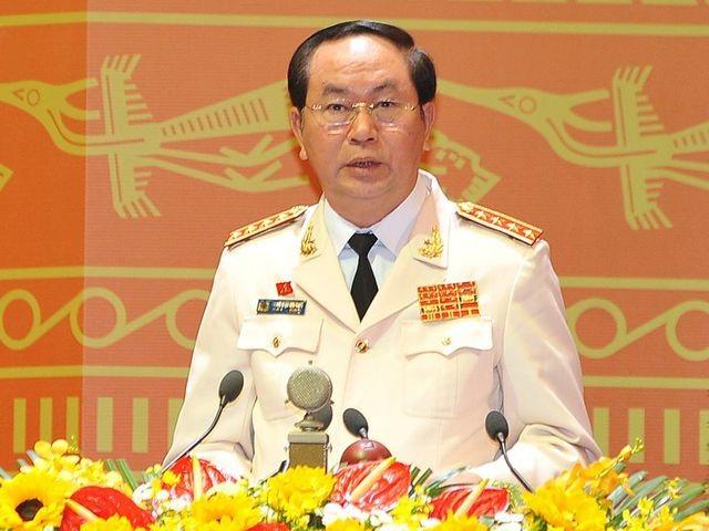 Đại tướng - Bộ trưởng Công an Trần Đại Quang là người duy nhất được Bộ Chính trị, Ban Chấp hành Trung ương Đảng giới thiệu để Quốc hội bầu Chủ tịch nước.
