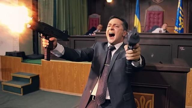 Chuyện đời như phim của diễn viên hài thắng cử tổng thống Ukraine - 3