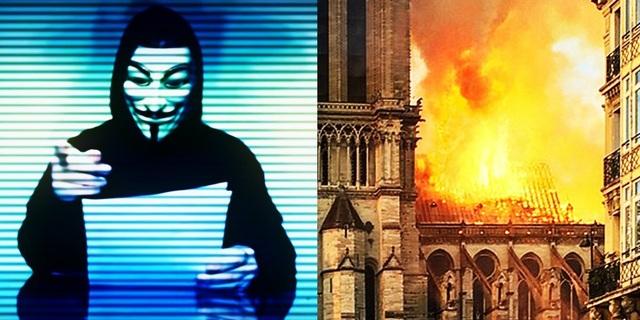 Nhóm hacker khét tiếng bất ngờ đưa ra tuyên bố tranh cãi về vụ cháy nhà thờ Đức Bà - 2