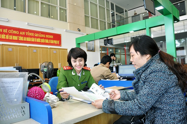 Bộ Công an đo sự hài lòng của người dân về thủ tục hành chính - 1