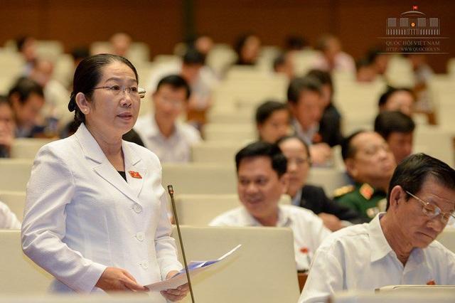 Đại biểu Võ Thị Dung (TPHCM)