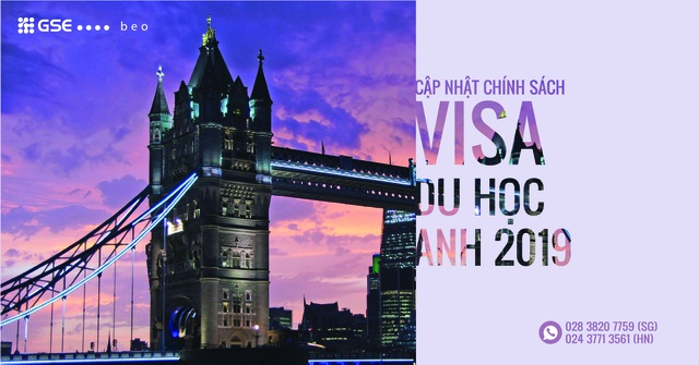 Cập nhật chính sách visa và học bổng du học Anh 2019 - 1