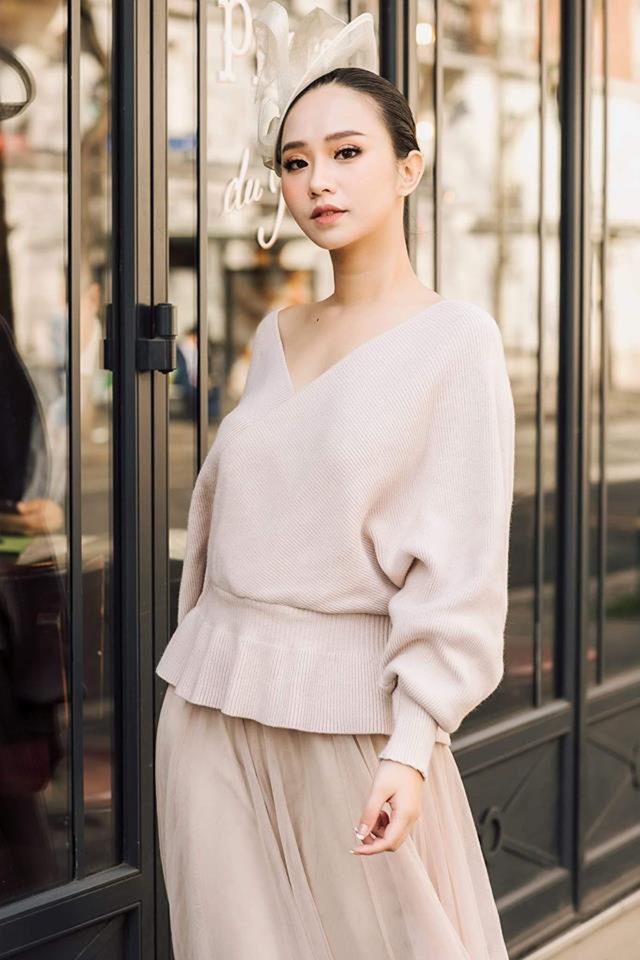 Chân dung Hương Trà - người đẹp giành vương miện Hoa hậu Thế giới người Việt tại Pháp - 6