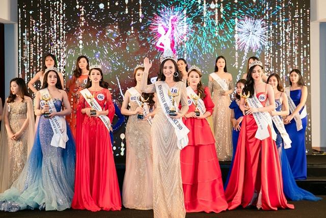 Chân dung Hương Trà - người đẹp giành vương miện Hoa hậu Thế giới người Việt tại Pháp - 1