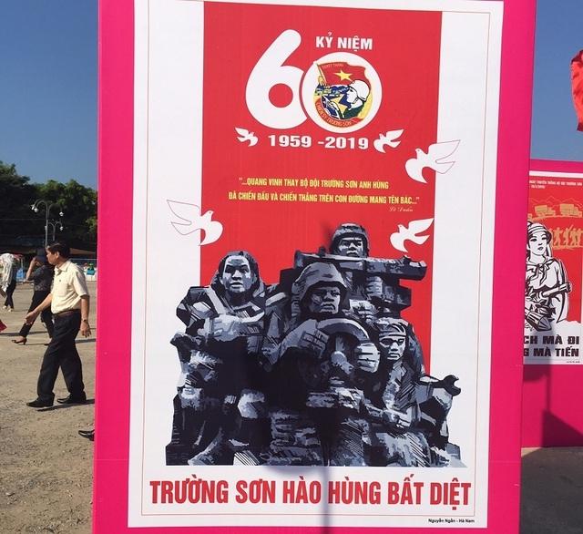 Khai mạc triển lãm tranh cổ động kỷ niệm 60 năm Ngày mở đường Hồ Chí Minh - Ảnh minh hoạ 3