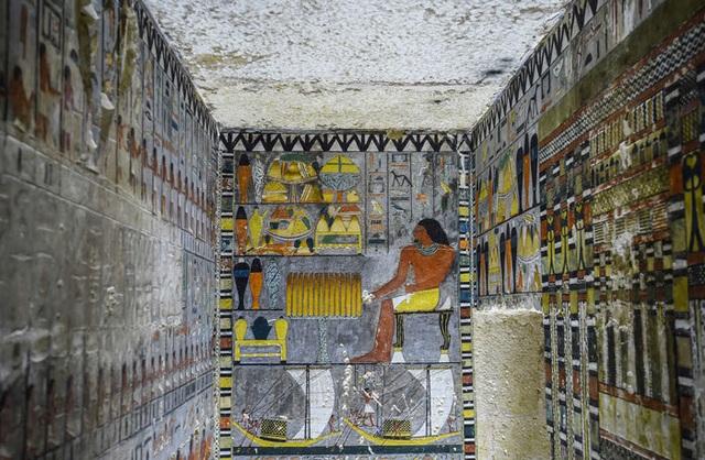 Ngôi mộ 4.000 năm tuổi ở Ai Cập còn nguyên như mới - 1