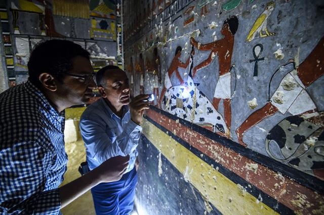 Ngôi mộ 4.000 năm tuổi ở Ai Cập còn nguyên như mới - 4