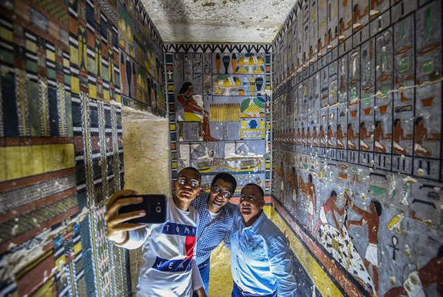 Ngôi mộ 4.000 năm tuổi ở Ai Cập còn nguyên như mới - 5
