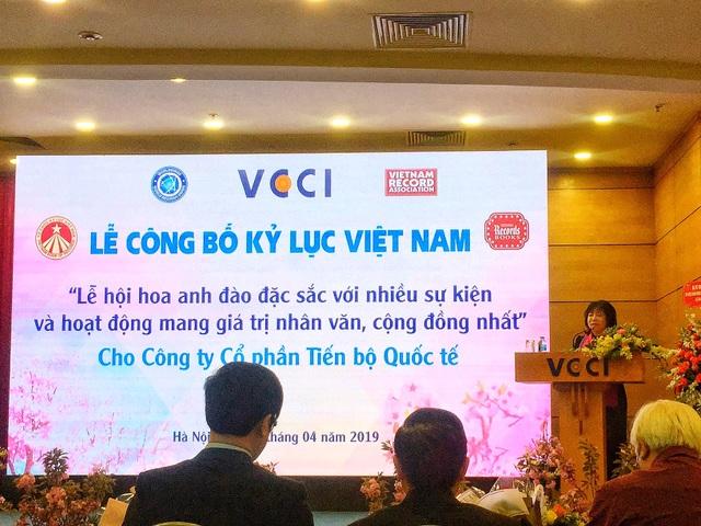 AIC Group xác lập kỷ lục Guiness Việt Nam với Lễ hội Hoa Anh Đào 2019 - 8