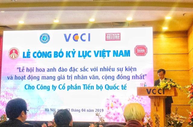 AIC Group xác lập kỷ lục Guiness Việt Nam với Lễ hội Hoa Anh Đào 2019 - 3