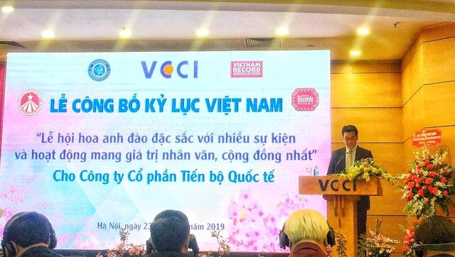 AIC Group xác lập kỷ lục Guiness Việt Nam với Lễ hội Hoa Anh Đào 2019 - 7