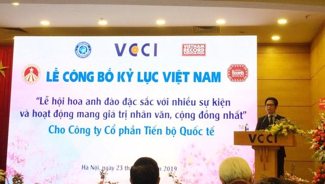 AIC Group xác lập kỷ lục Guiness Việt Nam với Lễ hội Hoa Anh Đào 2019 - 6