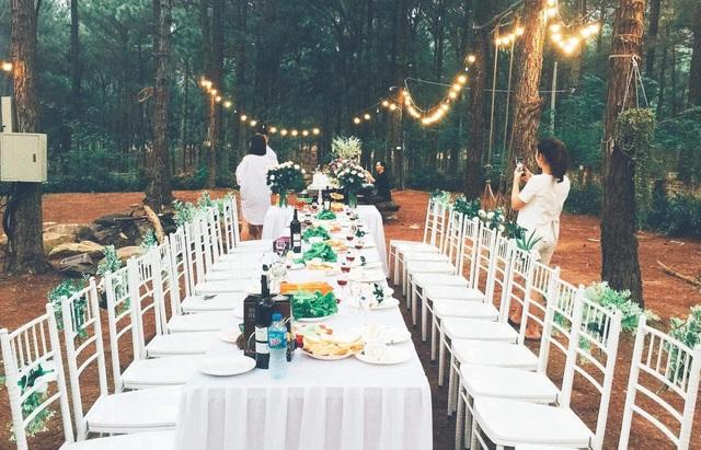 Sinh nhật lãng mạn giữa rừng thông Ba Vì đẹp như mơ của thành viên nhóm Doremi - 7