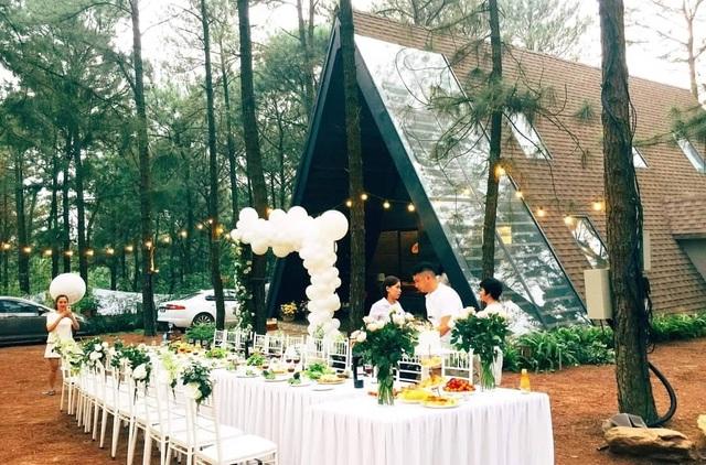 Sinh nhật lãng mạn giữa rừng thông Ba Vì đẹp như mơ của thành viên nhóm Doremi - 6