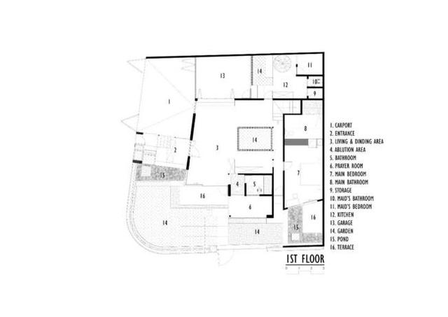 Nhà 2 mặt tiền xây bằng gạch mộc không sơn trát đẹp nổi bật trên báo ngoại - 21