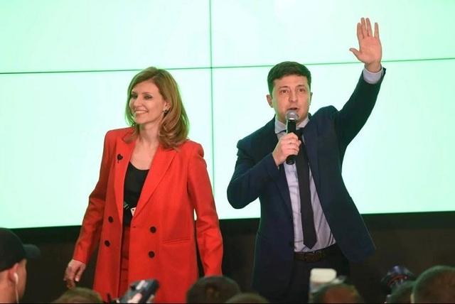 """""""Bóng hồng"""" quyền lực đứng sau diễn viên hài đắc cử tổng thống Ukraine - 5"""
