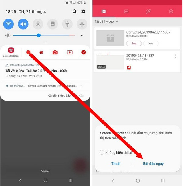 Ứng dụng miễn phí giúp dễ dàng ghi lại các hoạt động trên màn hình smartphone - 4