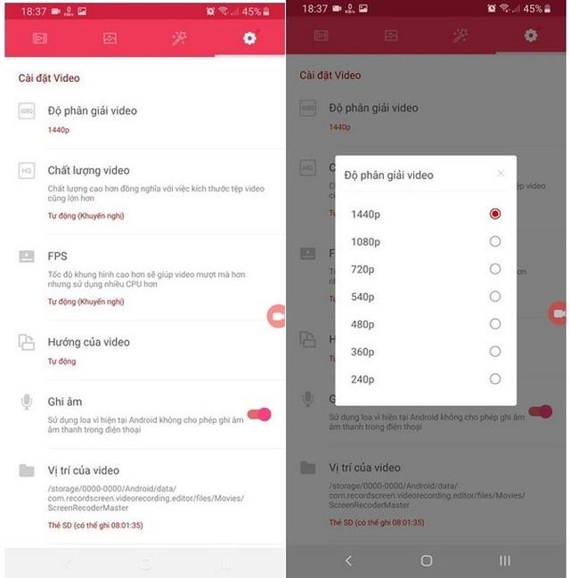 Ứng dụng miễn phí giúp dễ dàng ghi lại các hoạt động trên màn hình smartphone - 8