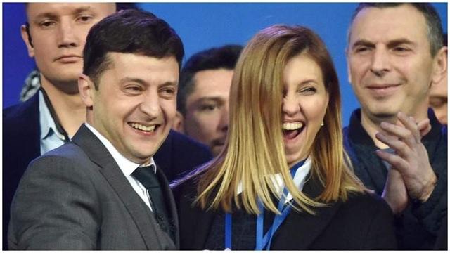 """""""Bóng hồng"""" quyền lực đứng sau diễn viên hài đắc cử tổng thống Ukraine - 1"""