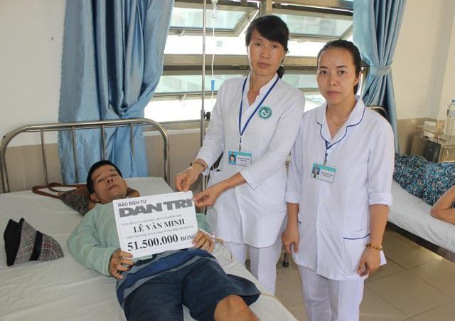 Bạn đọc giúp đỡ anh Lê Văn Minh hơn 76 triệu đồng - 1
