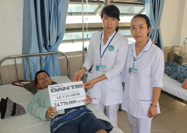 Bạn đọc giúp đỡ anh Lê Văn Minh hơn 76 triệu đồng - 2