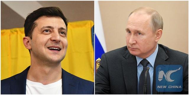 """Tổng thống đắc cử Ukraine được cảnh báo tránh """"mặt đối mặt"""" với ông Putin - 1"""