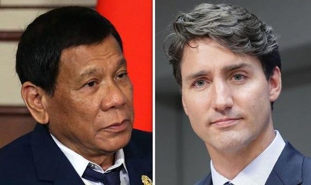 Tổng thống Philippines dọa tuyên chiến với Canada vì rác thải - 1