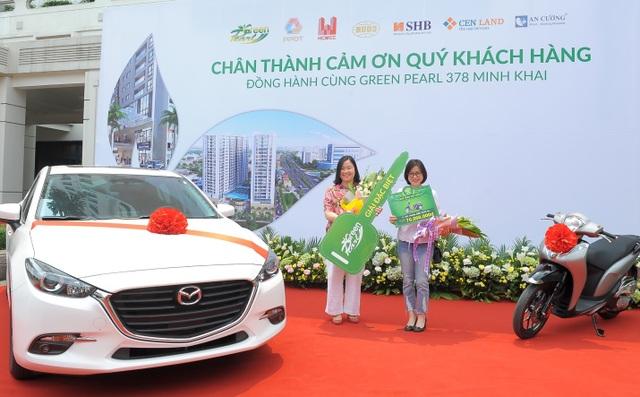 Gần 400 khách hàng dự lễ tri ân dự án Green Pearl 378 Minh Khai - 3