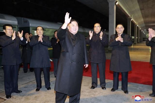 Ông Kim Jong-un lên tàu bọc thép tới Nga họp thượng đỉnh với ông Putin - 1