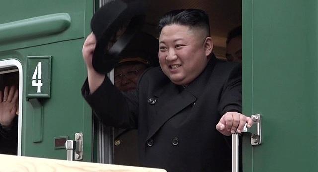 Ông Kim Jong-un bất ngờ cắt ngắn chuyến thăm Nga - 1