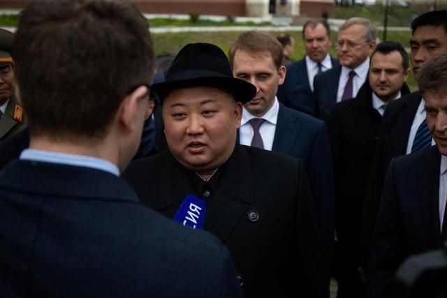 Ông Kim Jong-un lần đầu trả lời phỏng vấn truyền thông nước ngoài - 1