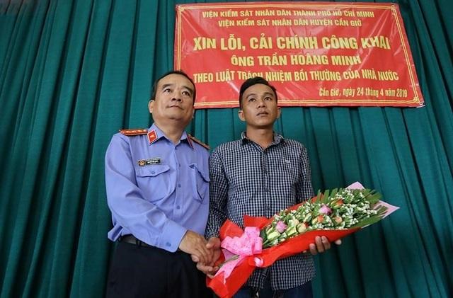 Viện Kiểm sát huyện Cần Giờ công khai xin lỗi người bị oan sai - 1