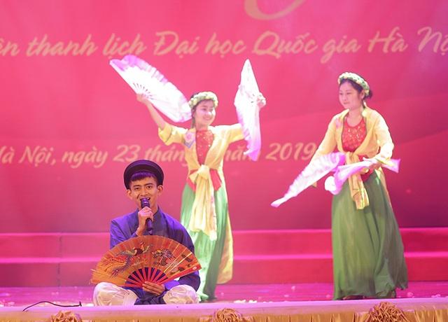 Ngắm vũ điệu quyến rũ của nữ sinh ĐH Quốc gia Hà Nội - 8