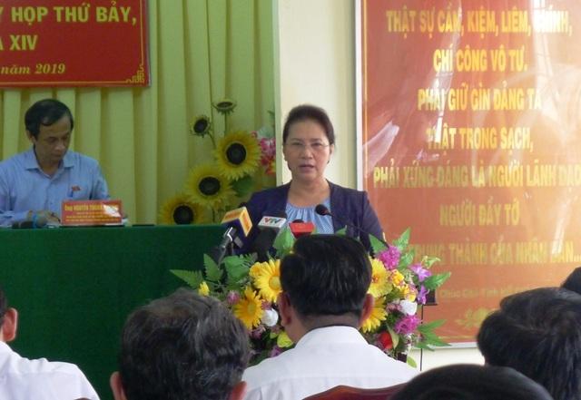 Chủ tịch Quốc hội trả lời cử tri về sức khỏe của Tổng Bí thư Nguyễn Phú Trọng - 3