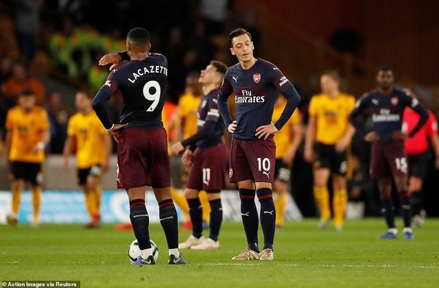 """Wolves 3-1 Arsenal: """"Pháo thủ"""" nhanh chóng bị """"thổi bay"""" - 2"""