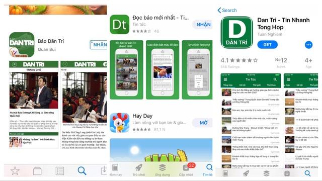Cảnh báo App giả mạo Dantri.com.vn tràn lan trên kho ứng dụng - 2