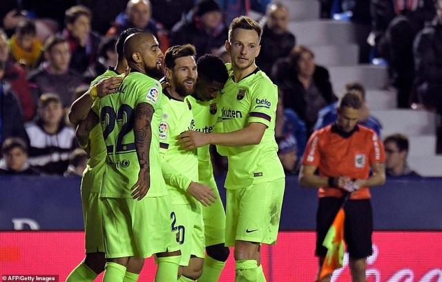 Barcelona lên ngôi vô địch La Liga sớm ba vòng đấu? - 4