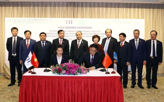 TH ký kết hợp tác chiến lược với nhà phân phối sản phẩm sữa và nông sản lớn nhất Trung Quốc - 1